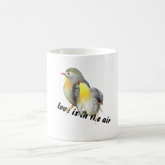 Cute love is in the air mug
