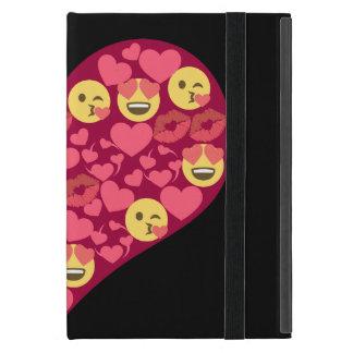 Cute Love Kiss Lips Emoji Heart Case For iPad Mini