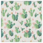 Cute Lovely Cactus Fabric