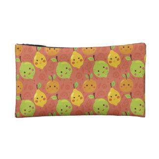 Cute Lovely Cartoon Orange, Lemon and Lime Cosmetic Bag