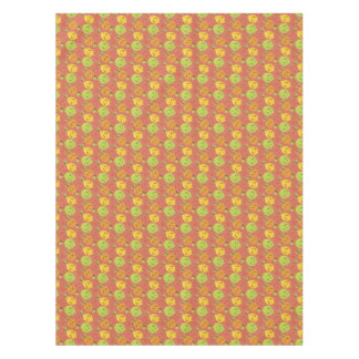 Cute Lovely Cartoon Orange, Lemon and Lime Tablecloth