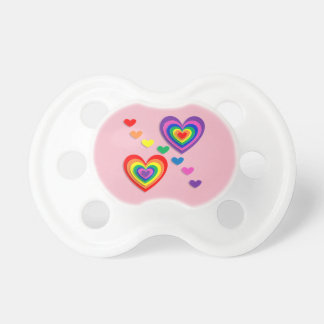 Cute lovely hearts 0-6 months BooginHead Pacifier