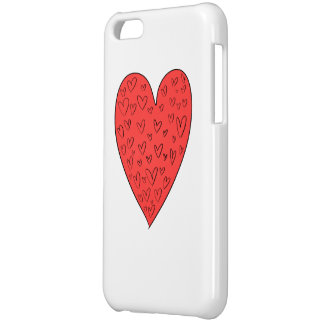 Cute Lovely Hearts iPhone 5/5S  Case iPhone 5C Cover