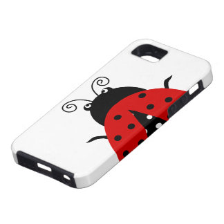 Cute Lovely Red Ladybug iPhone 5 Case