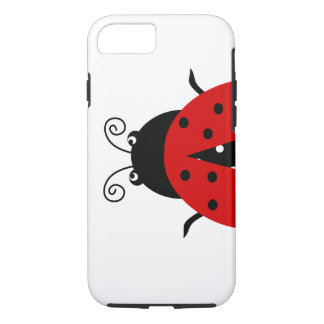 Cute Lovely Red Ladybug iPhone 7 Case