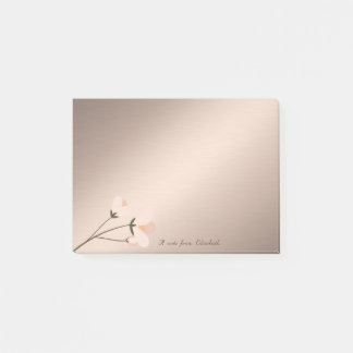 Cute Lovely  Stylish Elegant Flower Post-it Notes