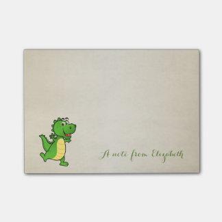 Cute Lovely  Stylish ,Happy Crocodile Post-it Notes