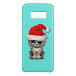 Cute Lynx Cub Wearing a Santa Hat Case-Mate Samsung Galaxy S8 Case