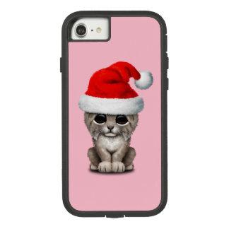 Cute Lynx Cub Wearing a Santa Hat Case-Mate Tough Extreme iPhone 8/7 Case