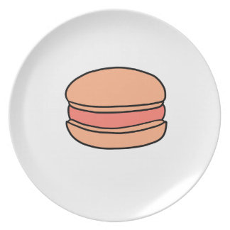 CUTE MACARON PLATE