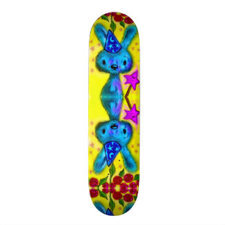 Cute Magic Bunny Airbrush Custom Pro Park Board Skateboard