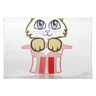 cute magic cate placemat