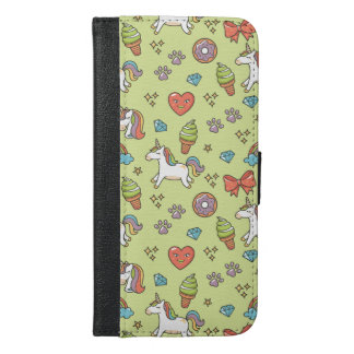 Cute Magic Unicorn iPhone 6/6s Plus Wallet Case