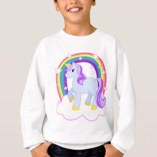 Cute Magical Unicorn with rainbow (Customisable!) Sweatshirt