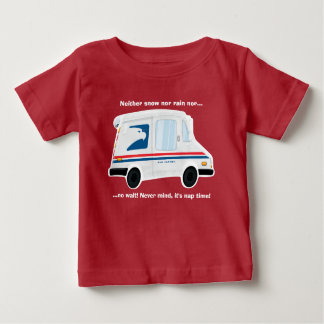 Cute Mail Truck T-Shirt  Baby - Toddler - Kids