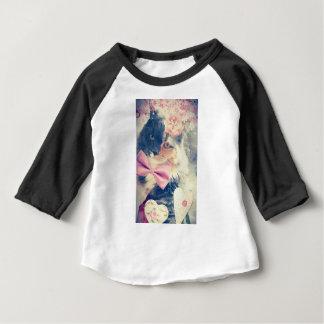 Cute Maine Coon Kitten Retro Style Baby T-Shirt