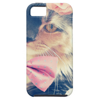 Cute Maine Coon Kitten Retro Style Case For The iPhone 5