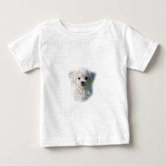 Cute Maltese Dog Baby T-Shirt