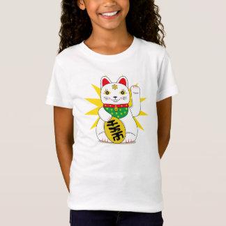 Cute Maneki Neko Japanese Good Fortune Cat T-Shirt