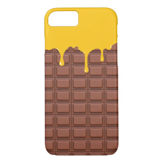 Cute Mango Ice Cream Chocolate iPhone 7 Case