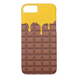 Cute Mango Ice Cream Chocolate iPhone 7 Case