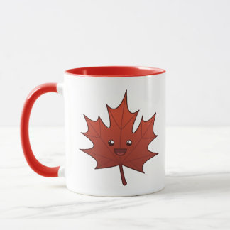 Cute Maple Leaf Mug
