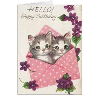 Cute Marjorie Cooper Birthday Card