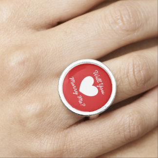 Cute Marriage Proposal Ring Placeholder