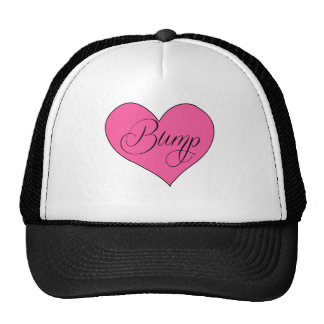 Cute Maternity Bump Heart Shirt Cap