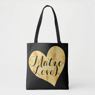 Cute Matzah Appreciation Saying Tote Bag