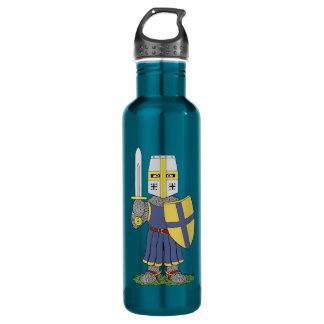 Cute Medieval Knight 710 Ml Water Bottle