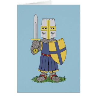 Cute Medieval Knight Card