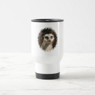 Cute Meerkat Travel Mug