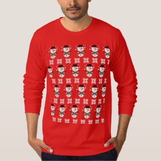 Cute Mens Snowman Xmas Jumper Sweater
