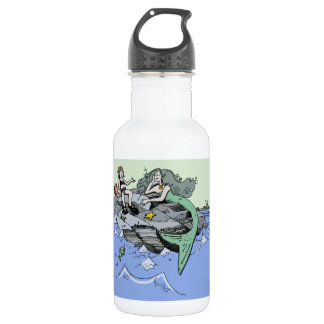 Cute Mermaid Beach Child 532 Ml Water Bottle