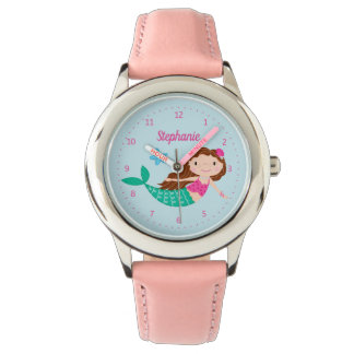 Cute Mermaid Whimsical Personalized Watch