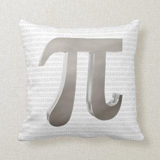 Cute metal pi character cushion