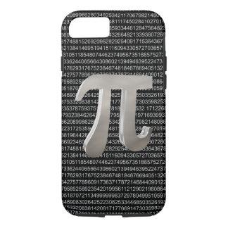Cute metal pi character iPhone 8/7 case