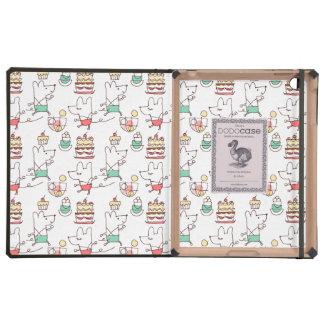 Cute Mice Bakery Chef Drawing iPad Cases