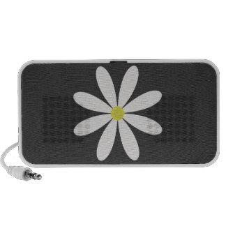 Cute Modern Daisy iPod Speaker