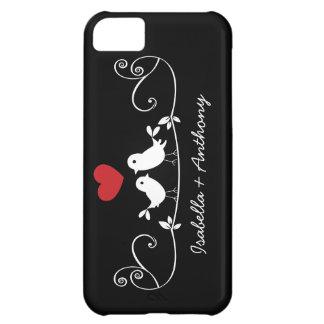 Cute Modern Love birds iPhone Case iPhone 5C Case