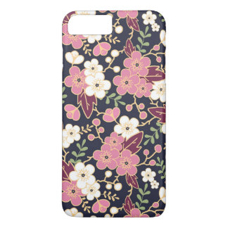 Cute Modern Spring Flower Pattern Girly Floral iPhone 8 Plus/7 Plus Case