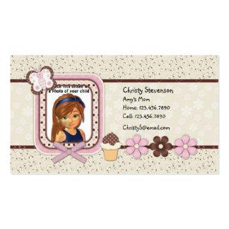 Cute Mommy Calling Card pocket calendar 2011 Business Cards