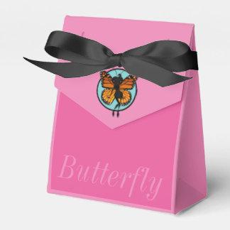 CUTE MONARCH BUTTERFLY LADY TENT FAVOR BOX WEDDING FAVOUR BOX