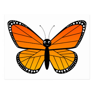 Cute Monarch Butterfly Post Cards