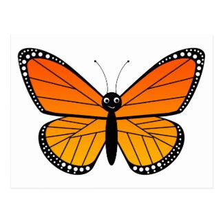 Cute Monarch Butterfly Postcard