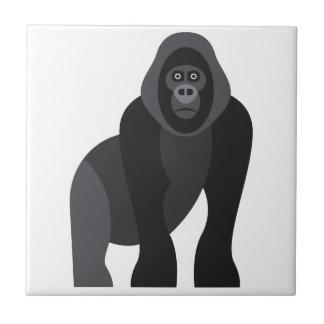 Cute monkey ceramic tile