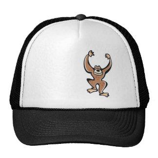 Cute Monkey; Cool Hats