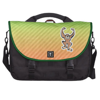 Cute Monkey Design Laptop Computer Bag