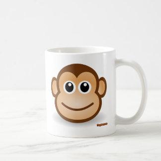 Cute Monkey Face Coffee Mug